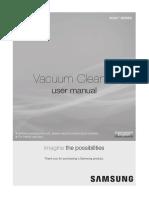 Manual de Utilizare Aspirator Samsung VCC43Q0V3D