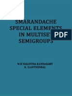 Smarandache Special Elements in Multiset Semigroups