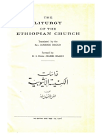 The Liturgy of the Ethiopian Church 1959 Original English Arabic