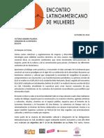 Carta Victooria Sandino