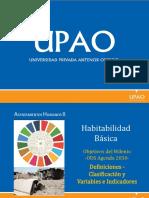 Habitabilidad básica - Upao