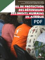 Manuel de protection des acteurs - Tournons la page - 2017