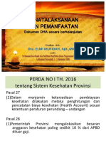 Presentation DHA Murnajati II (Bu Elmi)
