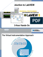 Introduction to LabVIEW 8 in 3 Hours