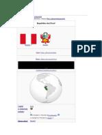 El Peru Primera Parte