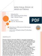 Architectural Study of Internet-Of-Things (1)