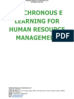 Synchronous e Learning for Human Resource Management [www.writekraftcom]