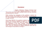 Aviation Mechanic Airframe-AMA PTS 27A