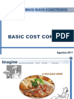 SI-4152 Estimasi Biaya - 1 Basic Cost Concept (Week-1) - 2017