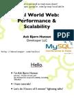 Read World Web Performance and Scalability MySQL Edition