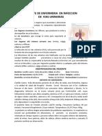 Reporte de Enfermeria en Infeccion de Vias Urinarias