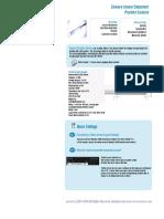 Position Datasheet