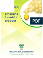 CORN OIL-An Emerging Industrial Product