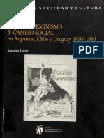 Asuncion Lavrin, Mujeres, feminismo y cambio social en Argentina, Chile y Uruguay, 1890-1940.pdf
