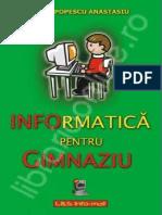 Doru Popescu Anastasiu - Informatica Pentru Gimnaziu