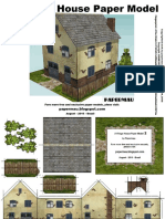 A Village House Paper Model - By Papermau - 2016 - Model 02