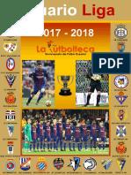 Anuario Liga 2017-2018