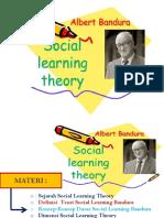 Sosial Learning Teori