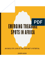 Emerging Treasure Spots in Africa