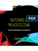 The Powers of the Age to Come - Joseph Asoh
