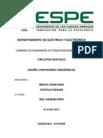 Informe Cronómetro Bravo Castillo