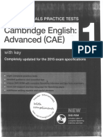 Cambridge English Advanced (CAE) 1 With Key