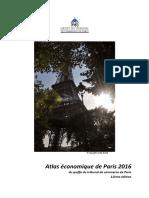 Atlas economique de Paris 2016