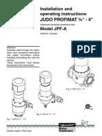 Judo_profimat Jpf Dn65