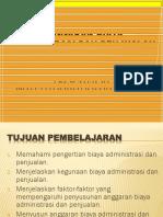7-ANGGARAN BIAYA ADMINISTRASI DAN PENJUALAN-20150425.pptx