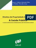 Salomão Filho, Calixto. Razoabilidade e Legalidade Do Licenciamento Compulsório Do Ponto de Vista Concorrencial