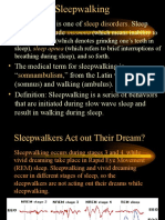 3 Sleepwalking Somnambulism