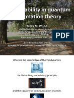 Recoverability in quantum information theory
