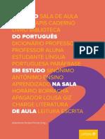 e Book O Léxico Do Português Em Estudo Na Sala de Aula II Letraria