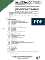 Edital Da Magistratura Federal - Resolução CJF - MINHAS ANOTAÇÕES