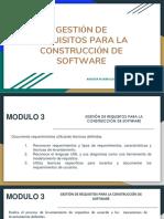 Modulo 3 - Gestion de Requerimientos - 2018