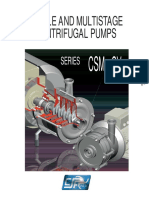 CSM-CV Single and Multistage Pumps