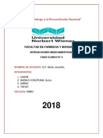 CASO CLINICO N 4 Interaccion Medicamentosa Avance