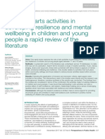 Arts and creativity in adolescence review.pdf