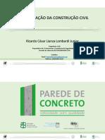 Aula - Parede de Concreto - A Mecanização Da Construção Civil