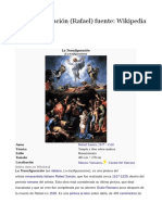 La Transfiguración, De Rafael