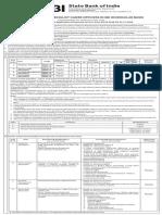 Sbi So Recruitment Notice
