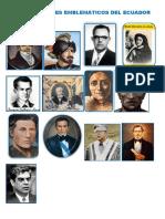 13 Personajes Emblemáticos Del Ecuador