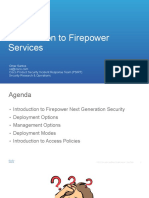Introduction to Firepower Services