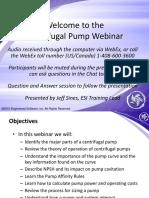 Pump Webinar
