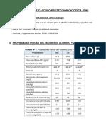 Calculos Proteccion Catodica Gnv