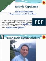 CAPELLANES INTERNACIONALES - PORTAFOLIO