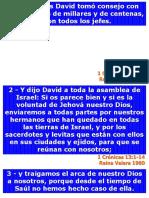 1 Crónicas 13 - Reina Valera 1960