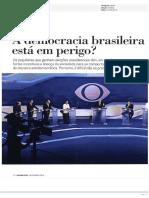 A Democracia Brasileira Esta Em Perigo
