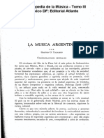 Talamón, Gastón - La Música Argentina