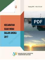 Kecamatan Suak Midai Dalam Angka 2017